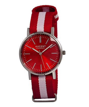 Red & White Vintage Watch