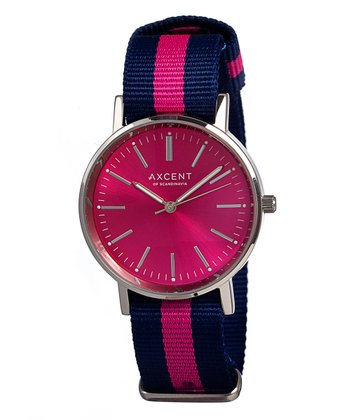 Hot Pink Vintage Watch