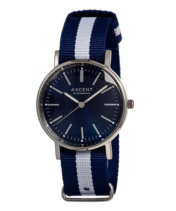 Blue & White Vintage Watch - Women