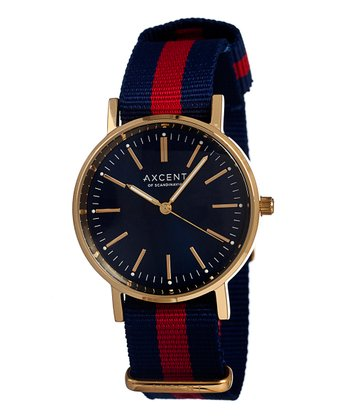 Blue & Red Vintage Watch