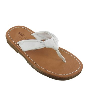 White Rochelle Leather Sandal