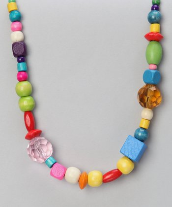 Bright Rock Candy Beaded Necklace
