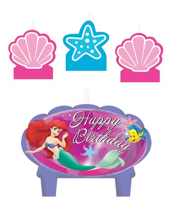 Little Mermaid Mini Candle Set