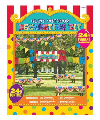 Outdoor Carnival Decorating Set