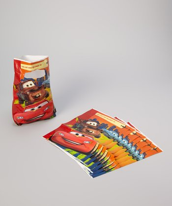Cars 2 Folded Candy Bag - Set of 16