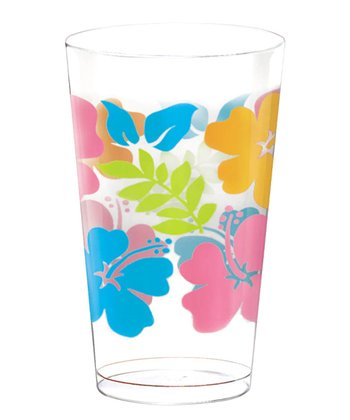 Hibiscus 16-Oz. Printed Tumbler - Set of 25