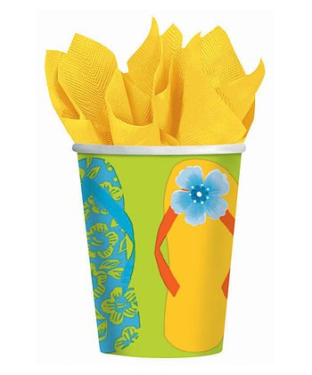 Flip-Flop 9-Oz. Cup - Set of 16