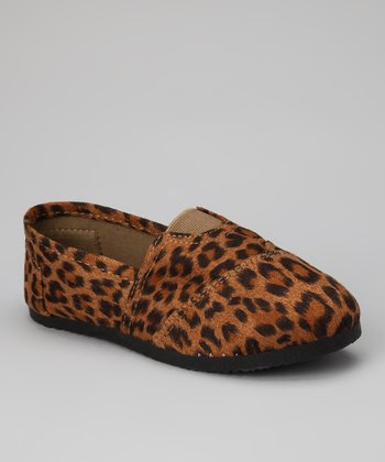 Brown Leopard Loafer