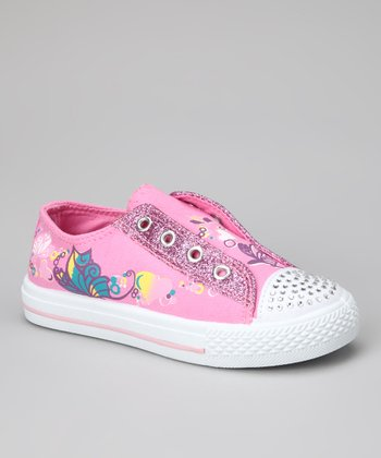 Pink Star-10 Slip-On Sneaker