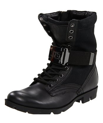 Black Canvas Strong Boot