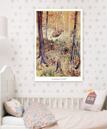 'A Curious Game of Croquet' Wall Art