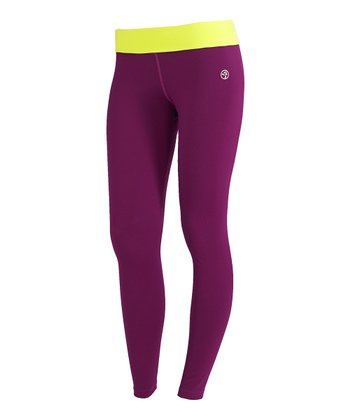 Plum Strut Leggings