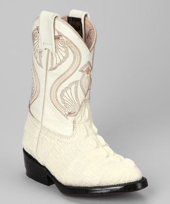 Bone Cocodrilo Boot