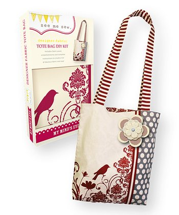 Red Finch Tote DIY Kit
