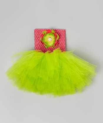 Hot Pink Sorbet Tutu Dress - Infant, Toddler & Girls