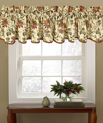 Cream Felicite Window Valance
