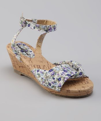 Sweet Girl Purple Cutie Sandal