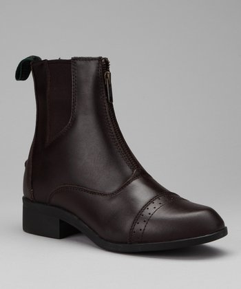 Dark Brown Assurance Leather Boot - Women