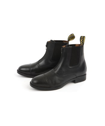 Black Saxon Paddock Boot - Kids