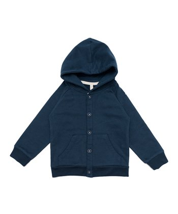 Night Blue Organic Hoodie - Infant, Toddler & Kids