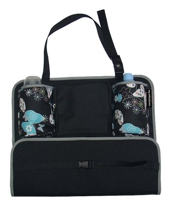 Black Butterfly Sling Car Seat Organizer