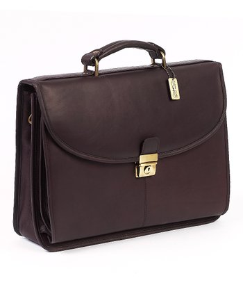 Café Leather Briefcase