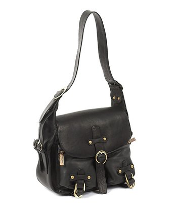 Black Florentine Leather Handbag