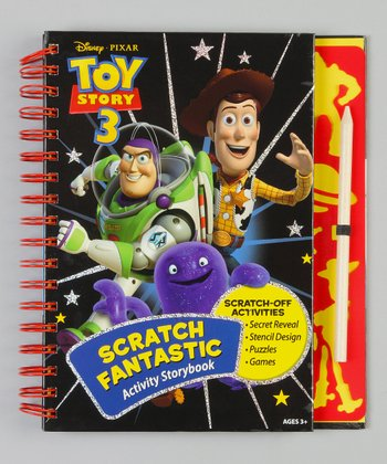 Toy Story Scratch Fantastic Activity Book