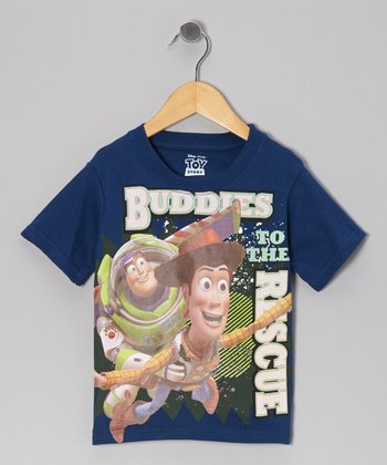 Blue 'Buddies to the Rescue' Tee - Toddler