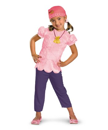 Pink & Purple Izzy Classic Dress-Up Set - Toddler