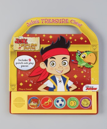 Jake's Treasure Chest Sound Board Book