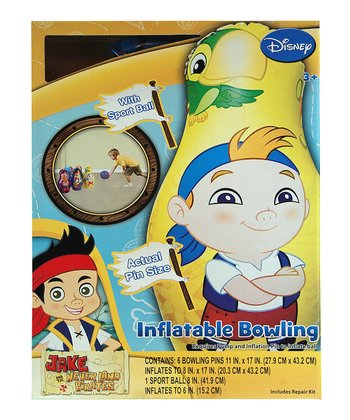 Jake & the Never Land Pirates Bowling Set