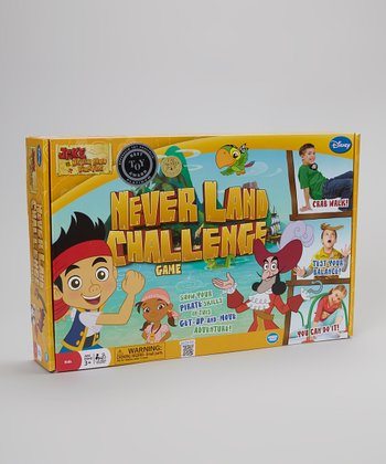 Never Land Challenge Board Game