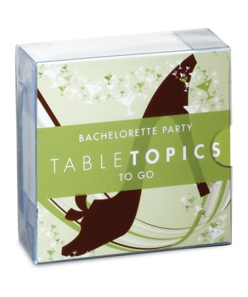 Bachelorette Party TableTopics Game