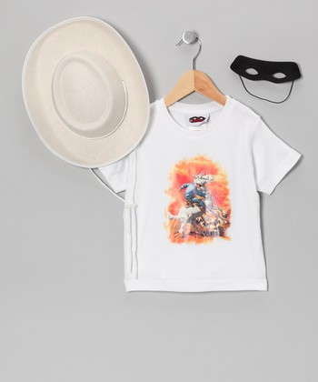 White Lone Ranger Dress-Up Set - Toddler & Kids