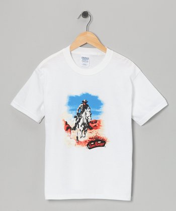 White Lone Ranger Tee - Toddler & Kids