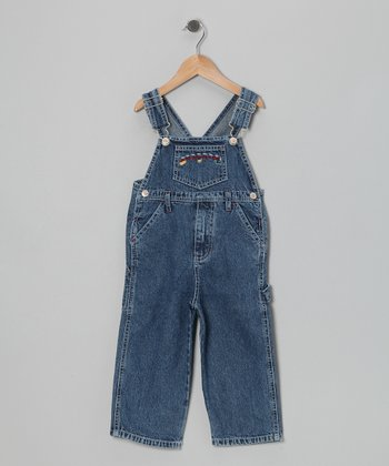 Classic Wash Old Macdonald Overalls - Toddler