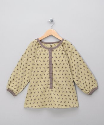 Army Elk Organic Long-Sleeve Tunic - Infant, Toddler & Girls