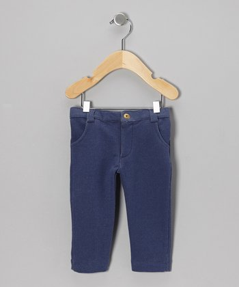 Blue Denim Organic Pants - Infant & Kids
