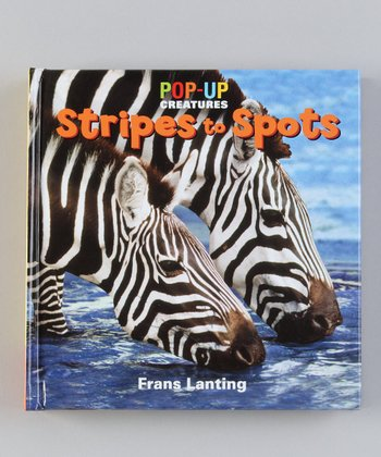 Pop-Up Creatures: Stripes to Spots Board Book