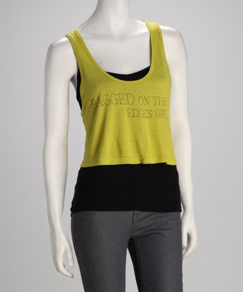 Southward Margarita 'Ragged' Crop Top