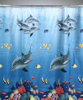 Dolphin Sea Shower Curtain
