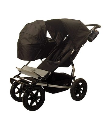 Mountain Buggy - Black Duo Stroller with Carrycot & Storm Cover