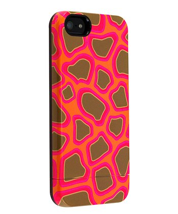 Neon Giraffe Case for iPhone 5