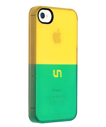 Gold & Teal Sorbet Case for iPhone 4/4S