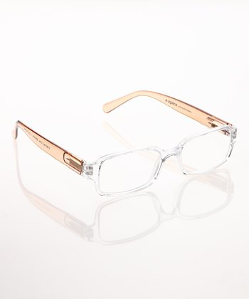 Crystal & Brown E-Specs Computer Glasses