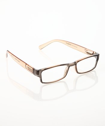 Brown E-Specs Computer Glasses