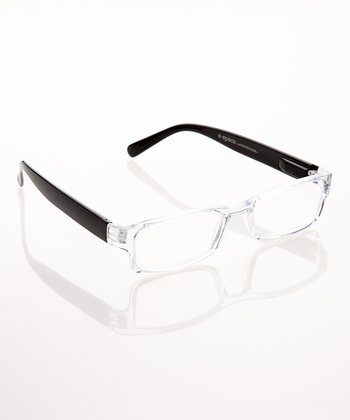 Black & Crystal E-Specs Computer Glasses