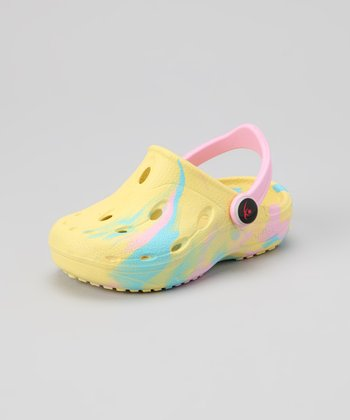 Yellow Dux Clog - Kids