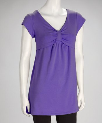 Purple Pika Bubi Nursing Top - Women